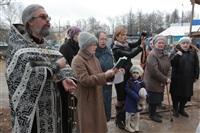 Освящение креста купола Свято-Казанского храма, Фото: 2