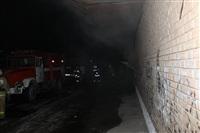 Пожар в здании бывшего кинотеатра «Искра». 10 марта 2014, Фото: 1
