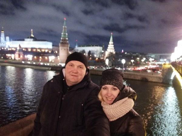 Москва. Кремль. Мы