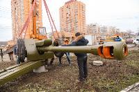 В Туле на ул. Приупской установили гаубицу Д-30, Фото: 8