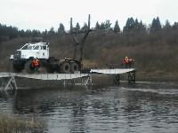 Монтаж моста в Архангельской области, Фото: 31