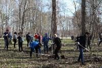 Посадка деревьев в Комсомольском парке, Фото: 35