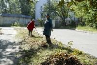 Субботник в Пролетарском округе Тулы, Фото: 66