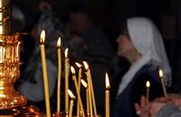 Пасхальная служба в Успенском соборе. 20.04.2014, Фото: 61