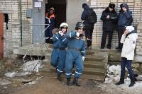 У дома, поврежденного взрывом в Ясногорске, демонтировали опасный угол стены, Фото: 11