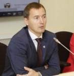 Денис Тихонов и Татьяна Лапаева на встрече с тульскими предпринимателями, Фото: 2