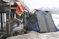 ДТП с участием «Газели» мосту через реку Воронку. 13 февраля 2014, Фото: 5