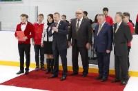 Председатель правительства Тульской области Юрий Андрианов вручил санки следж-хоккеистам региона, Фото: 4