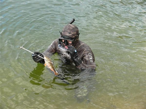 Открытие сезона подводной охоты! Май, самая пора!