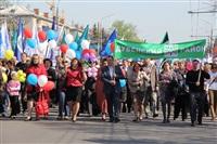 Тульская Федерация профсоюзов провела митинг и первомайское шествие. 1.05.2014, Фото: 57