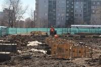 Строительство городского центра художественной гимнастики. 5 апреля 2016 года, Фото: 1