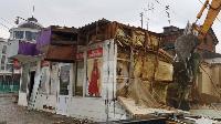 Снос незаконных павильонов в Заречье, Фото: 34