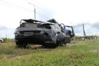 Возле поста ДПС в Плавске столкнулись три иномарки и фура, Фото: 6