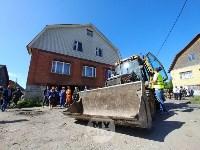 В Плеханово вновь сносят незаконные дома цыган, Фото: 20