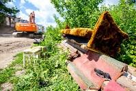 Снос домов в Плеханово. 6 июля 2016 года, Фото: 41
