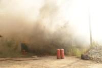 На улице Патронной загорелся частный дом, Фото: 14