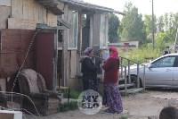 В Плеханово вновь сносят незаконные дома цыган, Фото: 30