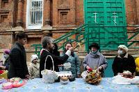 Туляки освящают пасхи и куличи, Фото: 29