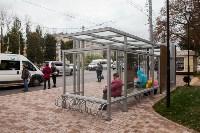Остановочный павильон возле сквера Студенченский, Фото: 10