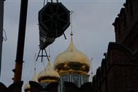 Утром 15 ноября в Тулу привезли шпиль для колокольни Успенского собора, Фото: 4
