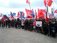 В Туле проходит митинг в поддержку Крыма, Фото: 7