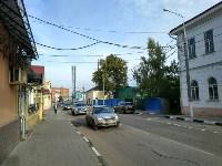 Улица Металлистов перекрыта, Фото: 2