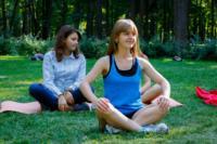 В Центральном парке прошла тренировка по пилатесу, Фото: 2