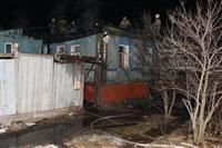 В поселке Октябрьский сгорел дом., Фото: 17