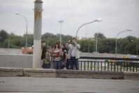 """""""Киа"""" врезалась в столб на Пролетарском мосту, Фото: 7"""