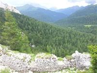 Рубеж «Эдельвейс» плотно перекрывает долины, ведущие к перевалу., Фото: 51
