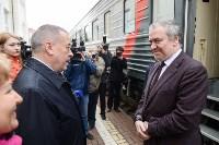 Встреча Валерия Гергиева на Московском вокзале в Туле, Фото: 8