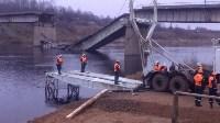 Монтаж моста в Архангельской области, Фото: 19