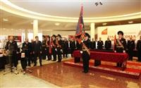 В Туле прошла церемония крепления к древку полотнища знамени регионального УМВД, Фото: 18