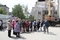 Алексей Дюмин проинспектировал работы по восстановлению дома в Ясногорске, Фото: 10