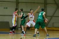 Тульские баскетболисты «Арсенала» обыграли черкесский «Эльбрус», Фото: 14