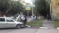 В Туле в результате аварии перевернулся автомобиль, Фото: 4