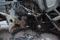 На въезде в Тулу трактор протаранил внедорожник, Фото: 6