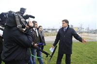 16 октября Владимир Груздев проконтролировал ход работ по благоустройству набережной, Фото: 15