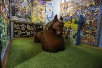 Монтаж экспозиции нового музея на Куликовом поле. Август 2016, Фото: 56