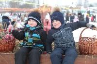 Как туляки провожали зиму на набережной Упы, Фото: 41