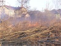Возгорание сухой травы на ул.Комбайновая, Фото: 7