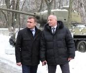 Алексей Дюмин встретился с представителями тульского поискового движения, Фото: 13