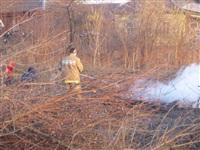 Возгорание сухой травы на ул.Комбайновая, Фото: 12