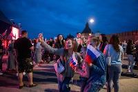 Как туляки поддерживали сборную России в матче с Бельгией, Фото: 18