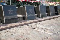 Реставрация обелисков на площади Победы, Фото: 4