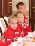 Встреча юных спортсменов с губернатором региона Владимиром Груздевым, Фото: 6