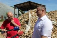 В Тульской области незаконно сжигали московский мусор, Фото: 14