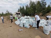 В Кондуках прошла акция «Вода России»: собрали более 500 мешков мусора, Фото: 21