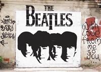 Легендарной ливерпульской четверке посвящено трафаретное граффити рядом с домом № 9-а в проезде Тимирязева., Фото: 14