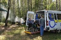 Тульские инвалиды-колясочники выехали на рыбалку, Фото: 26